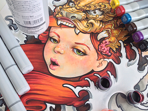 Get Hundreds of Copic Marker Colors for Cheap!