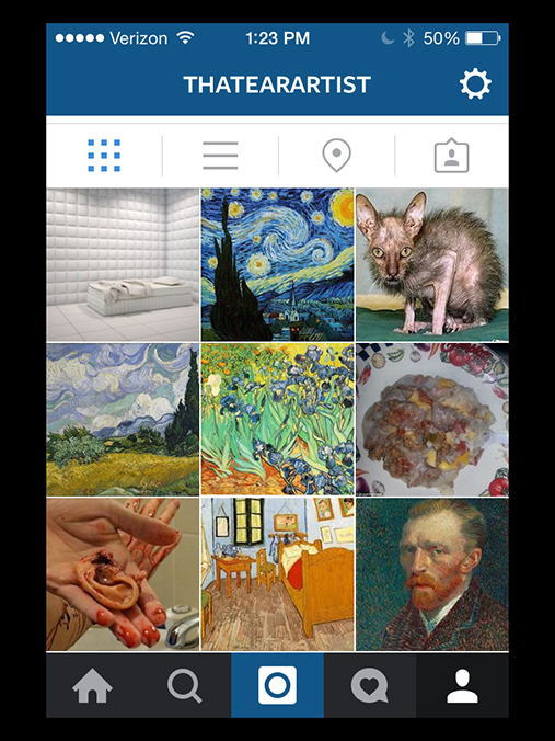 how to start an art account on instagram