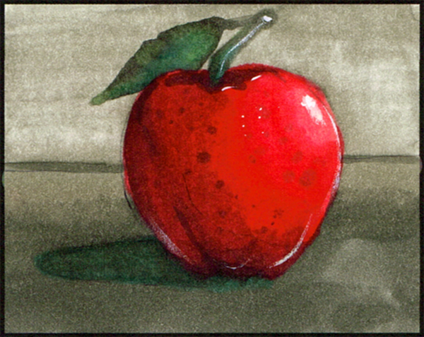 copic apple