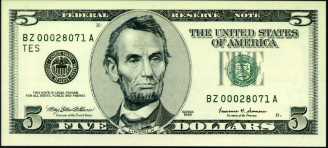 abraham-lincoln-5-dollar-bill_149465