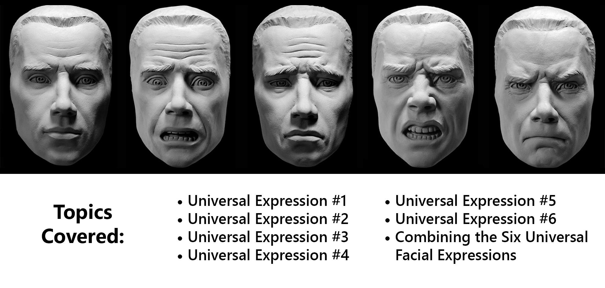 Expression facial universal