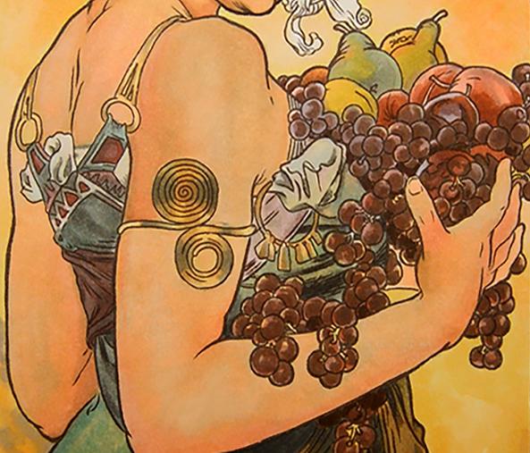 muchas-fruit-art-nouveau