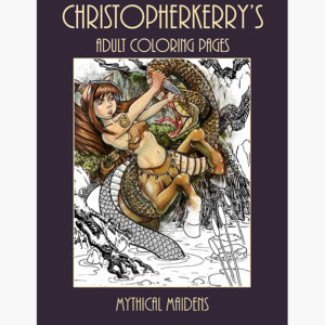 product coloringpages mythical maidens